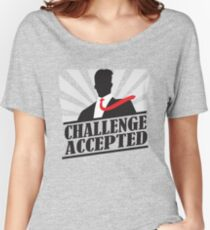 Challeng Accepted Women's Relaxed Fit T-Shirt