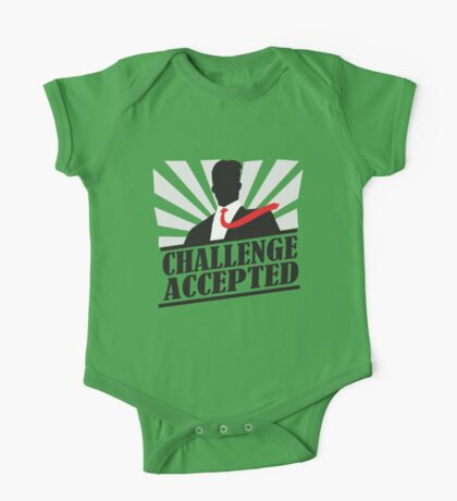 Challeng Accepted Kids Clothes