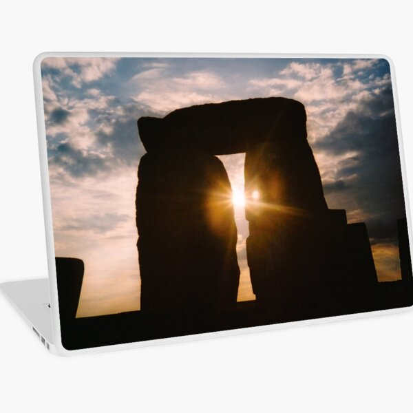 Solstice at Stonehenge Laptop Skin