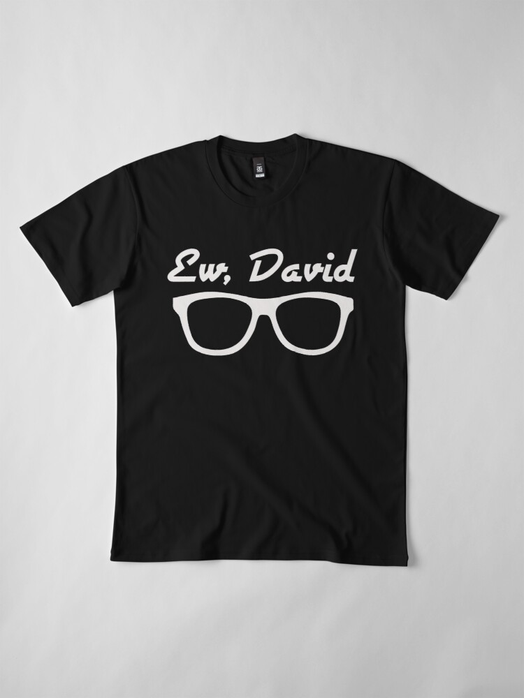 Alternate view of Ew, David Premium T-Shirt