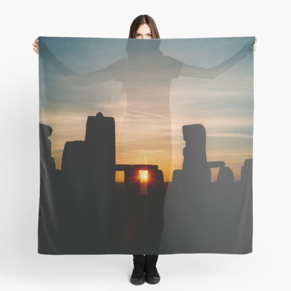Sunset at Stonehenge Scarf