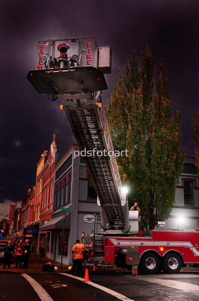 Salem Fire Truck by pdsfotoart