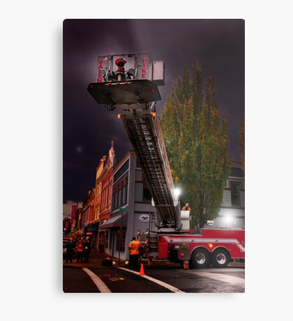 Salem Fire Truck Metal Print
