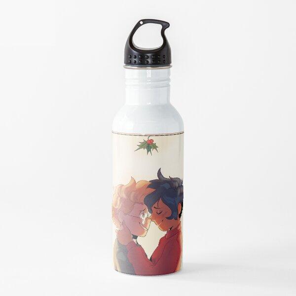 Meet me Under the Mistletoe Water Bottle