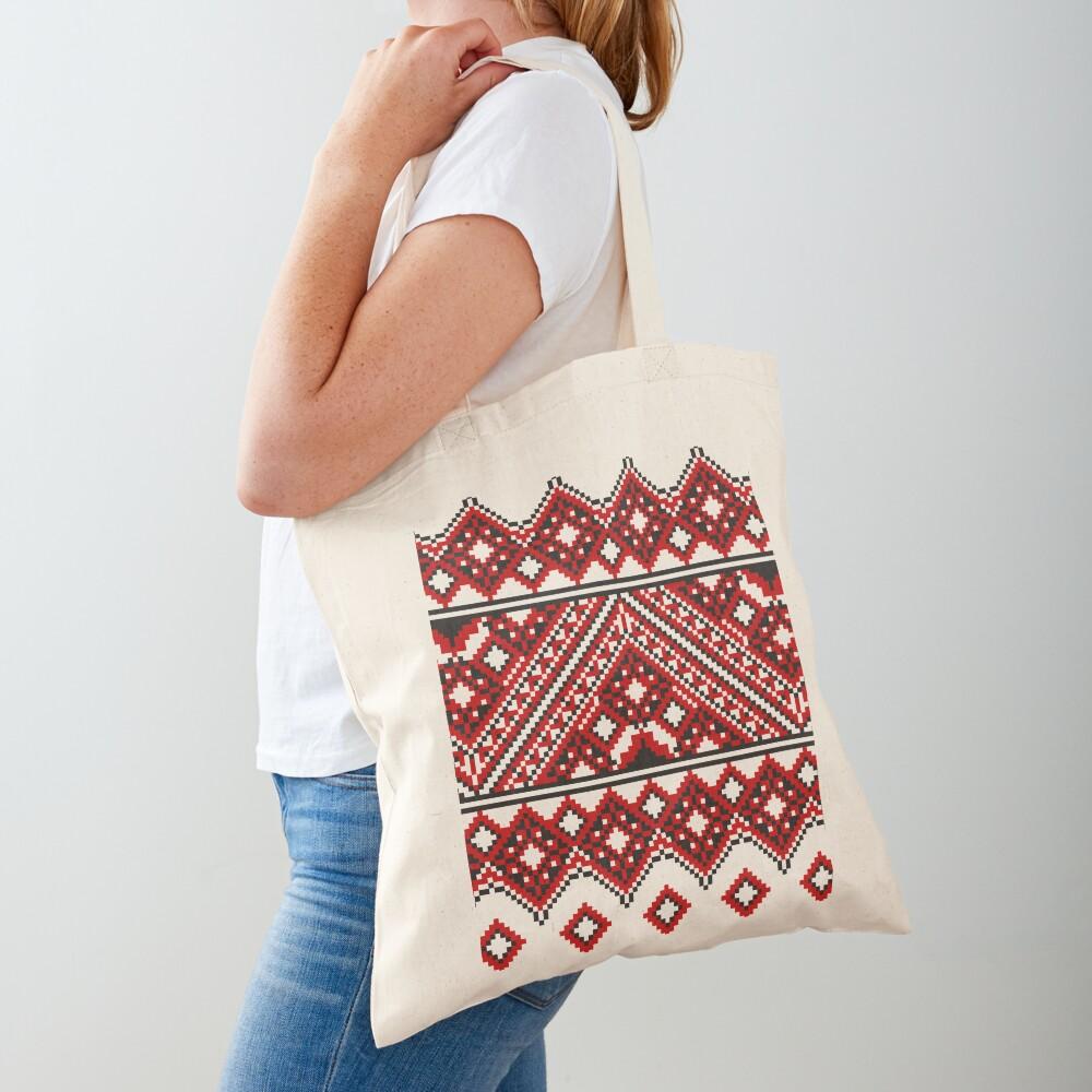 #Ukrainian #Embroidery, #CrossStitch, #Pattern Tote Bag