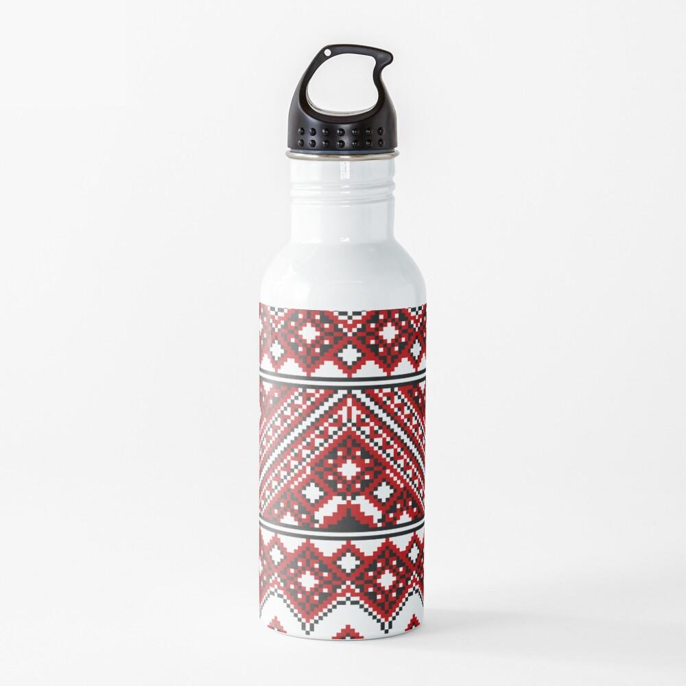 #Ukrainian #Embroidery, #CrossStitch, #Pattern Water Bottle