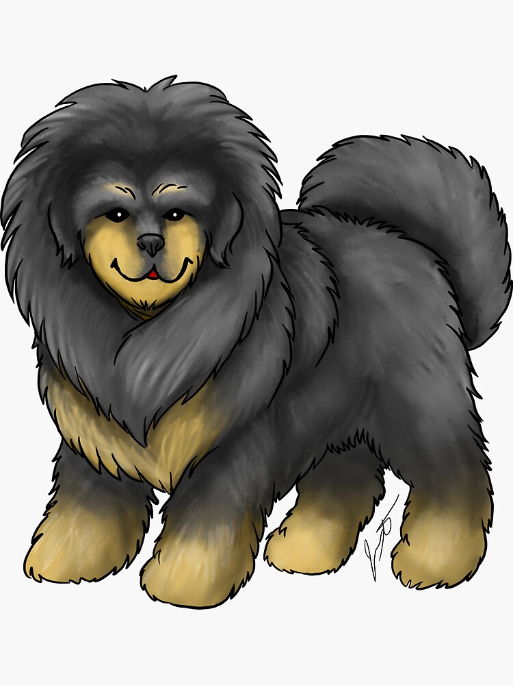 Tibetan Mastiff by jameson9101322