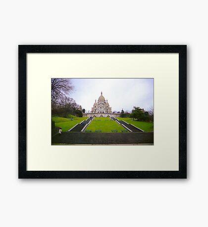 Sacre Coeur Basilica, Paris Framed Print