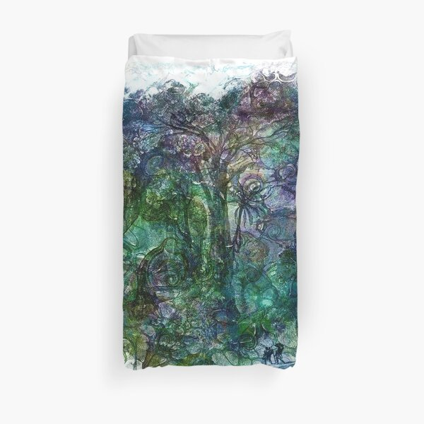 The Atlas of Dreams - Color Plate 190 Duvet Cover