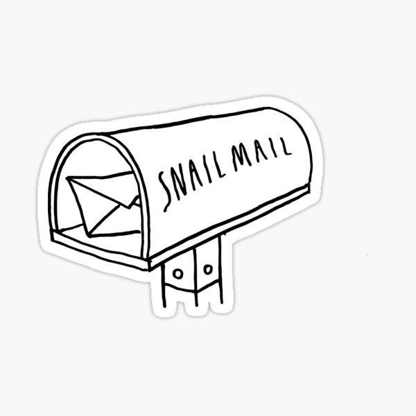 Snail Mail - Mailbox Sticker