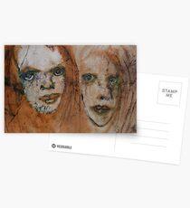 Faces, Bernard Lacoque-122 Postcards