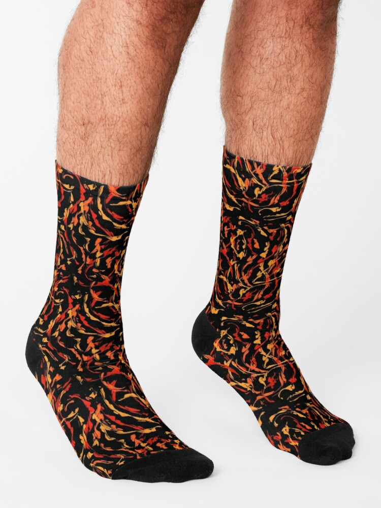 Alternate view of Wildfire Socks