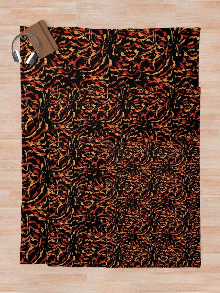 Alternate view of Wildfire Throw Blanket