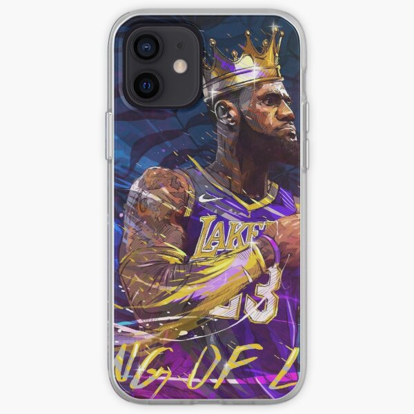 The King Lebron James  iPhone Soft Case