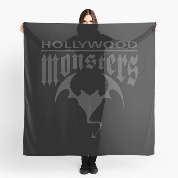 Hollywood Monsters Text Bat Logo - DARK GREY Scarf