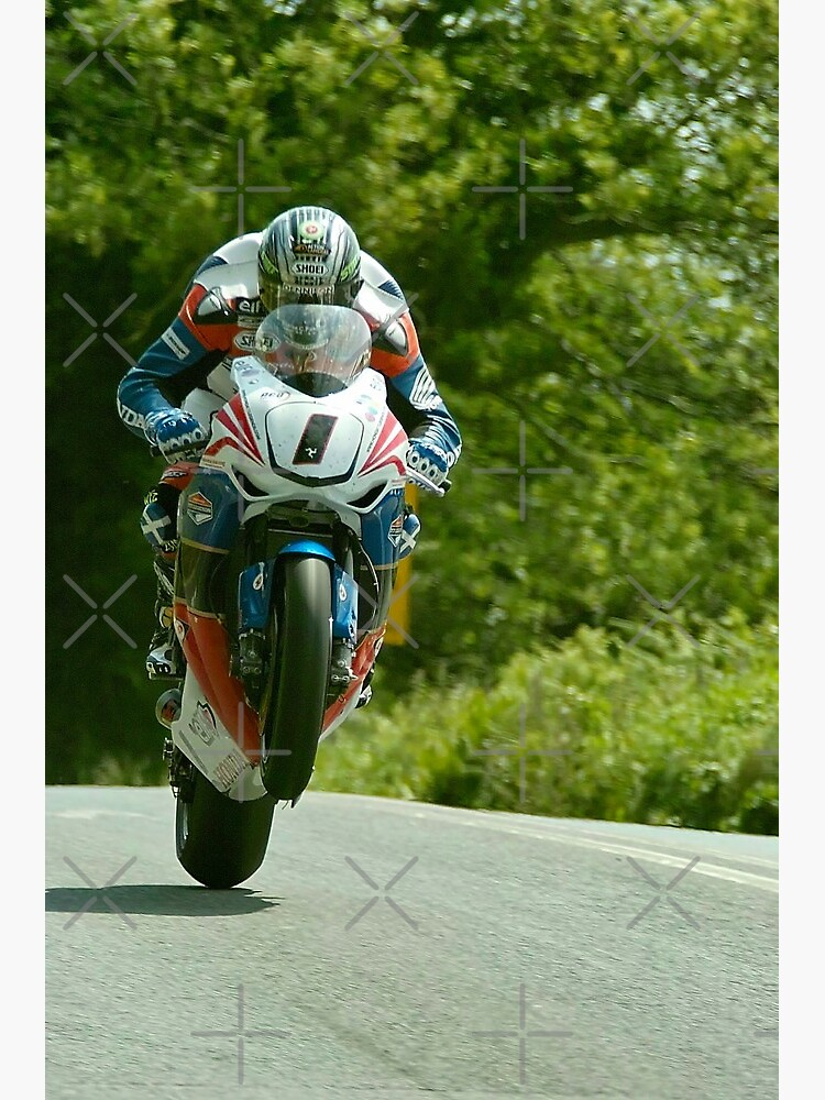 John McGuinness Isle of Man TT 2011 by skanner30
