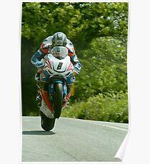 John McGuinness Isle of Man TT 2011 Poster