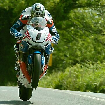 John McGuinness Isle of Man TT 2011 by skanner30