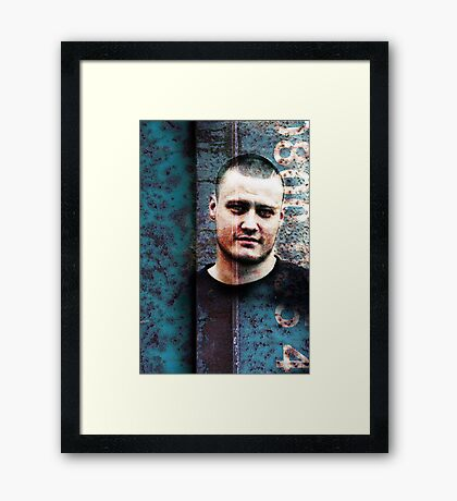 A Measure Of Youth - Growing Up Framed Print