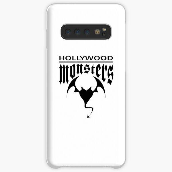 Hollywood Monsters Text Bat Logo - BLACK PRINT Samsung Galaxy Snap Case