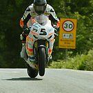 Bruce Anstey Isle of Man TT 2011 by Stephen Kane