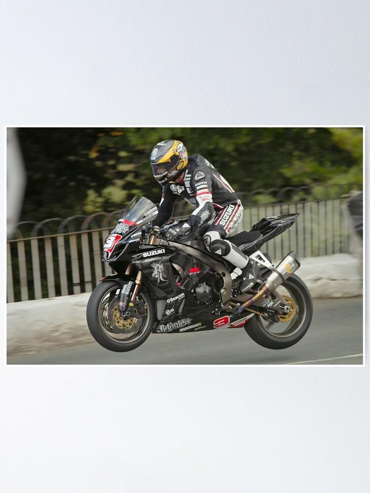 Alternate view of Guy Martin Isle of Man TT 2011 Poster