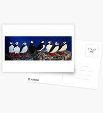 Puffin Watch Postcards