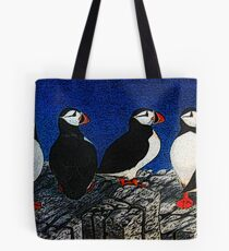 Puffin Watch Tote Bag
