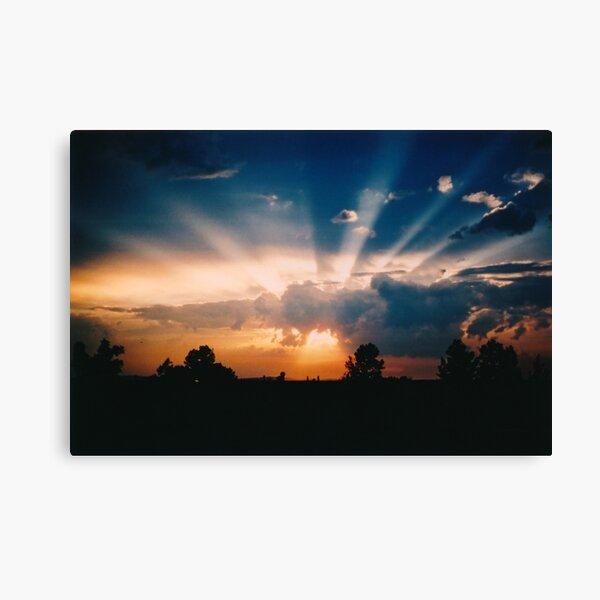Seven Rays Canvas Print