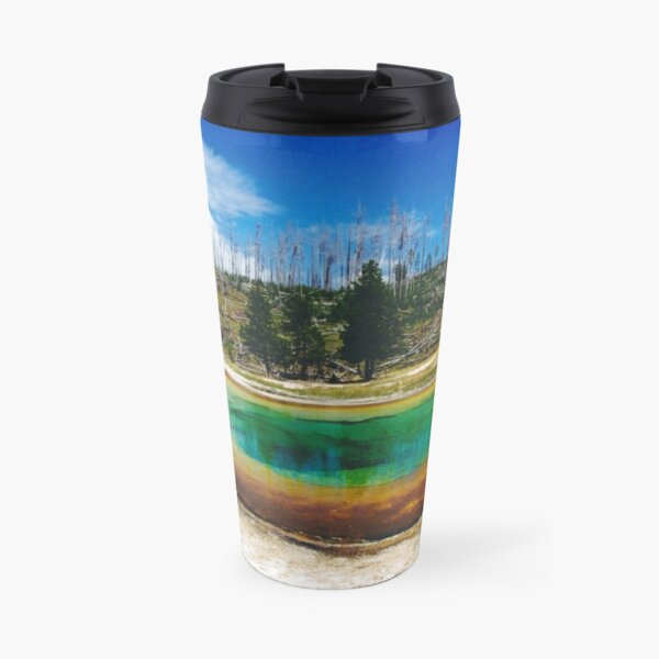 Eye of Yellowstone Travel Mug