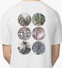 Forest in ovals Classic T-Shirt