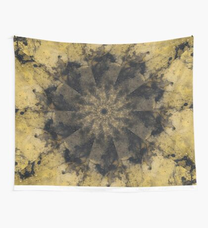 yellow stone Wall Tapestry