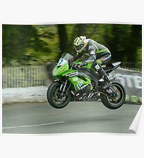 James Hillier Isle of Man TT 2011 Poster