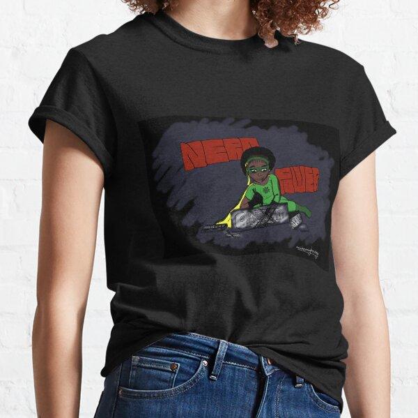 """Becoming Hero - Natasha """"Nerd Power"""" Classic T-Shirt"""