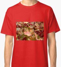 leaf background Classic T-Shirt