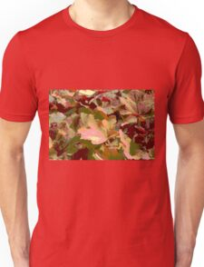 leaf background Unisex T-Shirt