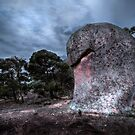 Fist Face - The Sentinel by Jeff Catford