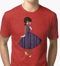 Girl of New Orleans Tri-blend T-Shirt