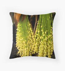 """""""Baby Palm Pods"""" Throw Pillow"""