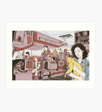 Aboard the Nostromo Art Print