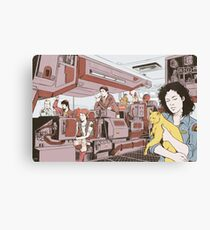 Aboard the Nostromo Canvas Print
