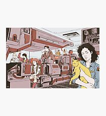 Aboard the Nostromo Photographic Print