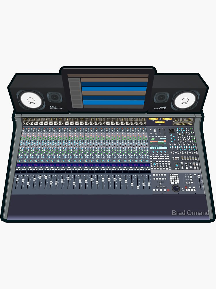 Audio Mixing Console Rig by BradOrmand