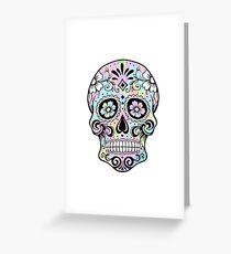Sugar Skull Rainbow Greeting Card