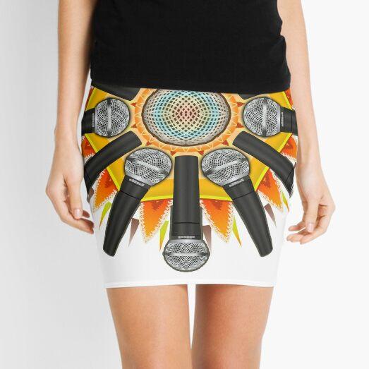 Mic Star Mini Skirt
