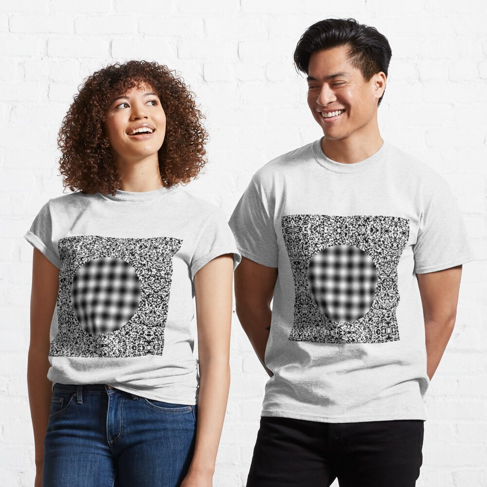 Optical illusion in Physics Classic T-Shirt