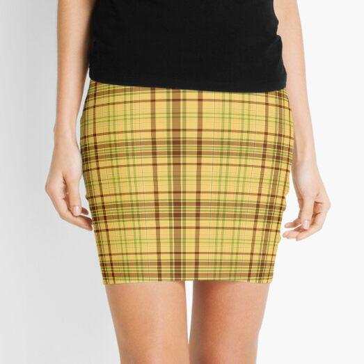 Butterscotch Plaid  Mini Skirt