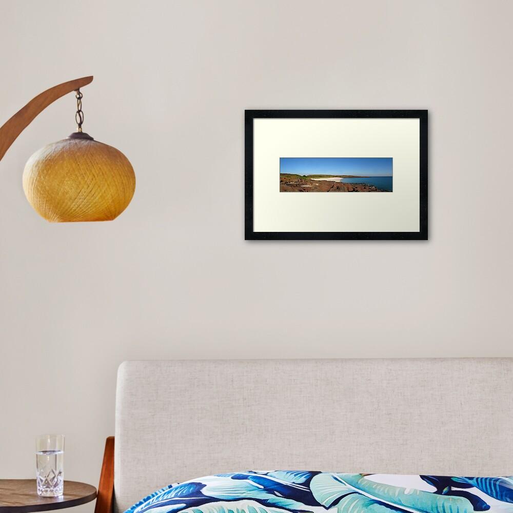 East Montalivet Island Framed Art Print