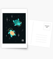 Space Turtles Postcards