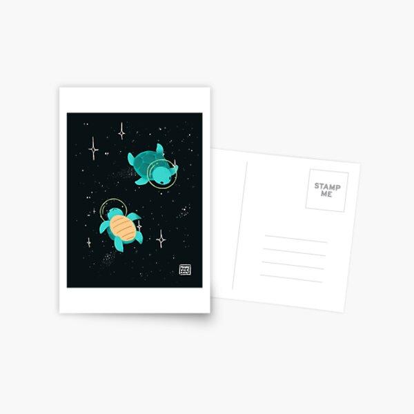 Space Turtles Postcard